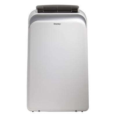 14000 BTU (9000 SACC) Portable Air Conditioner with Dehumidifier and Ionizer in White