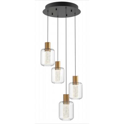 Essence Globe 25-Watt Integrated LED Gold Pendant