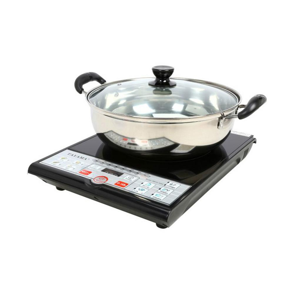 Digital Induction Hot Plate Set With Cooking Pot Portable