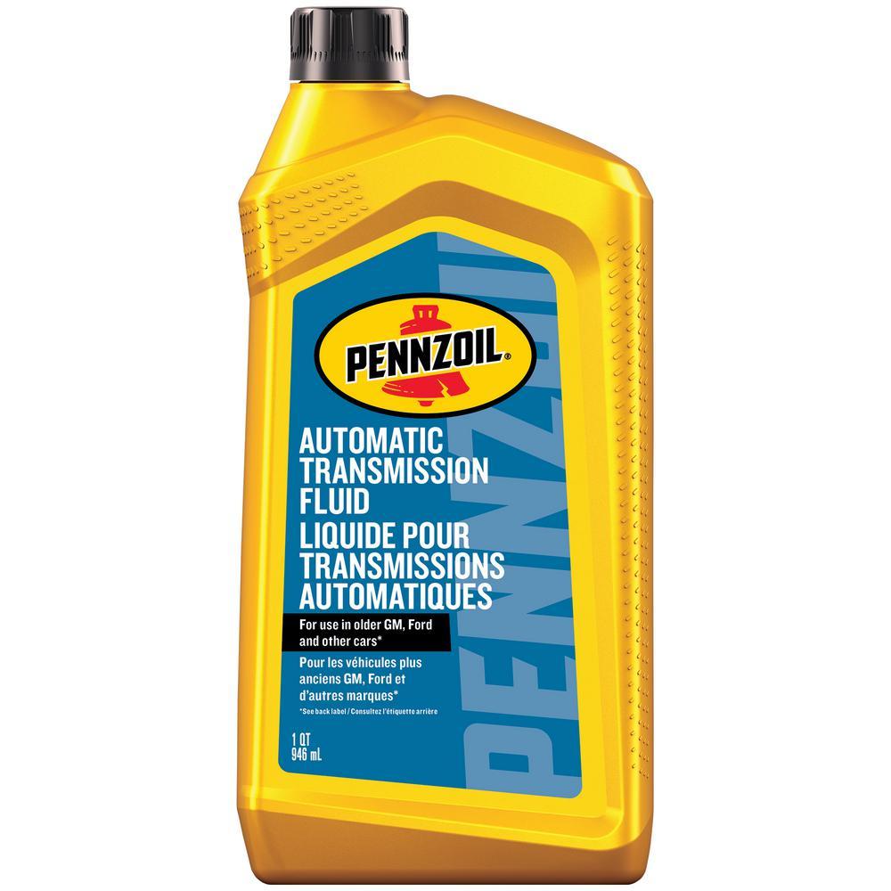 Automatic Transmission Fluid >> Pennzoil 32 Oz Atf Lubricant Oil