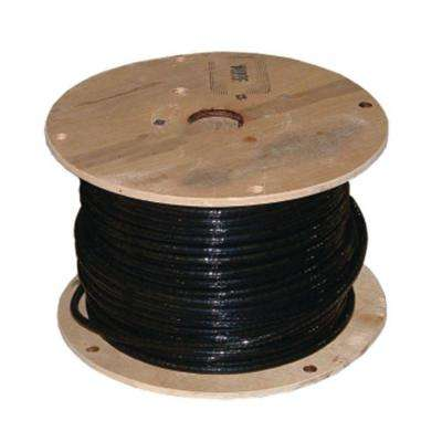 500 ft. 2 Black Stranded AL THHN Cable