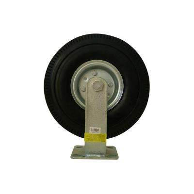 10 in. Rigid Flat Free Caster Wheel