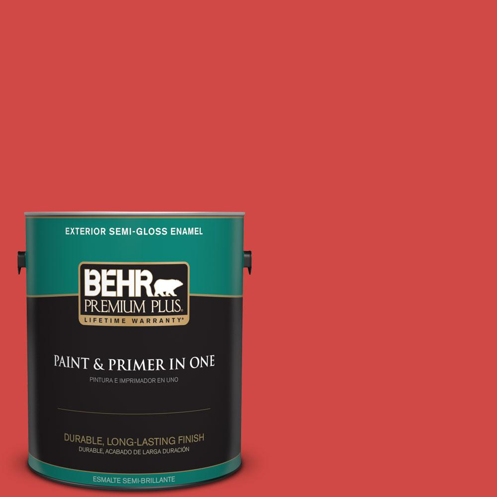 1-gal. #P170-6 Race Car Stripe Semi-Gloss Enamel Exterior Paint