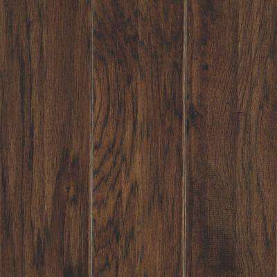 Take Home Sample - Hillsborough Hickory Mocha Engineered Hardwood Flooring - 5 in. x 7 in.