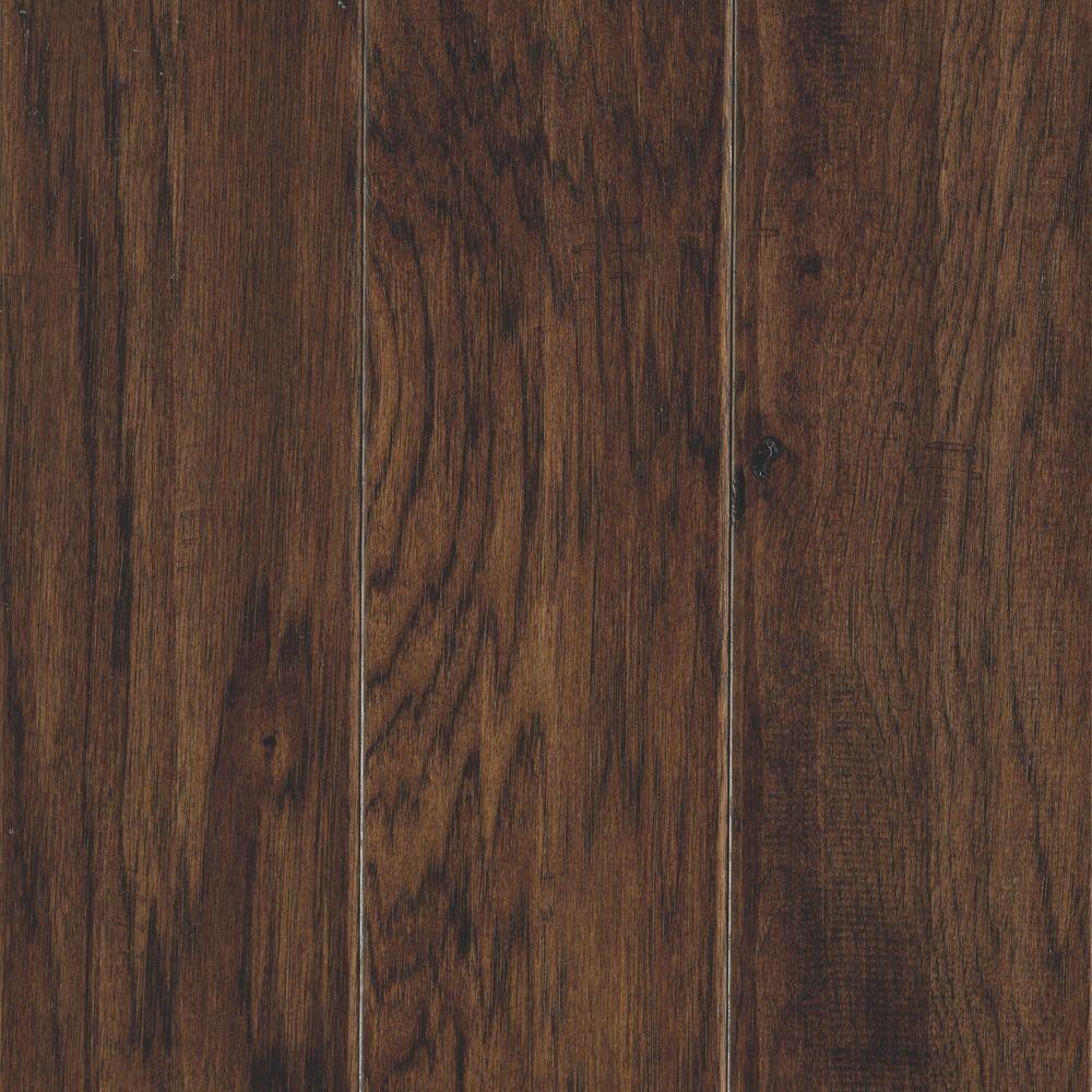Take Home Sample - Hillsborough Hickory Mocha Engineered Hardwood Flooring - 5 in. x 7 in.