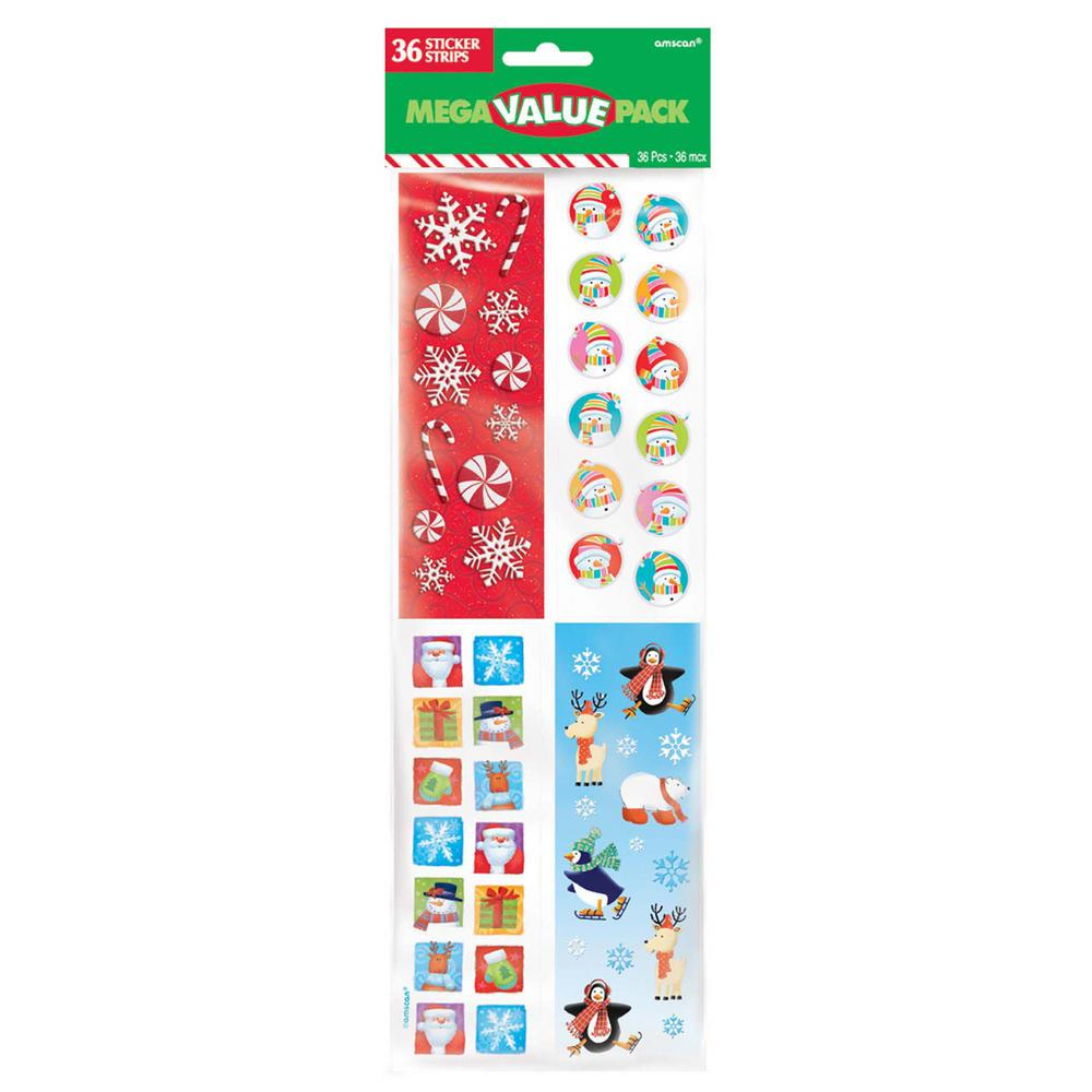 Christmas Stickers (432-Count 5-Pack)