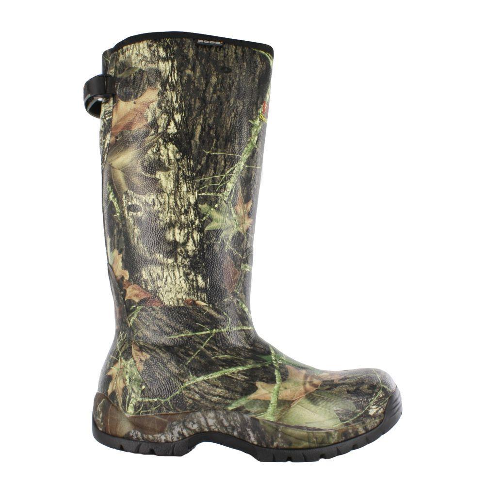 Blaze 1000 Camo Men's 15 in. Size 9 Mossy Oak Waterproof Rubber Hunting Boot