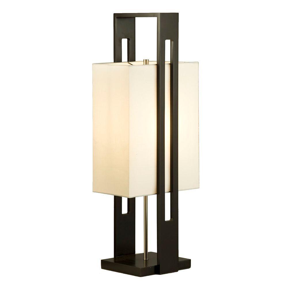 Filament Design Astrulux 30 in. Dark Brown Incandescent Table Lamp