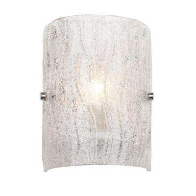 Brilliance 1-Light Chrome Sconce