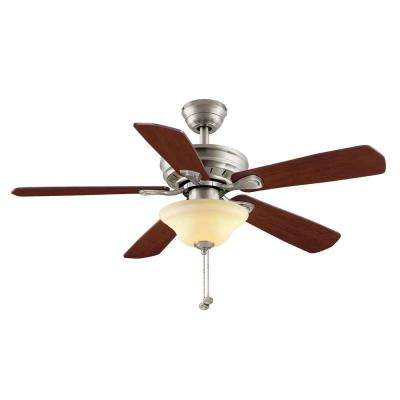 5 blades rosewood bowl ceiling fans with lights ceiling fans led brushed nickel ceiling fan aloadofball Images