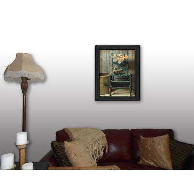 """18 in. x 14 in. """"This Old Chair"""" by Susan Boyer Printed Framed Wall Art"""