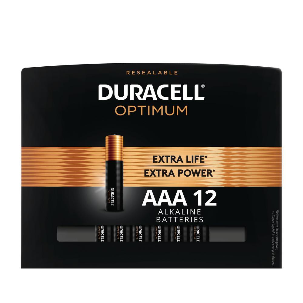 Optimum AAA Alkaline Battery (12-Pack)