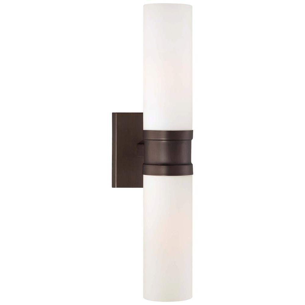 Minka Lavery 2-Light Copper Bronze Patina Sconce