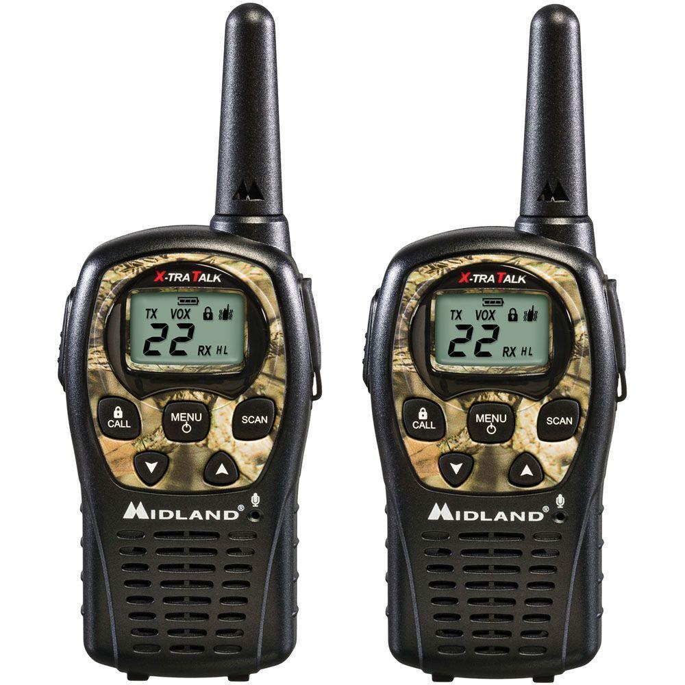 Midland 24-Mile 22 Channel 2-Way Radios - Camo (2-Pack) by Midland