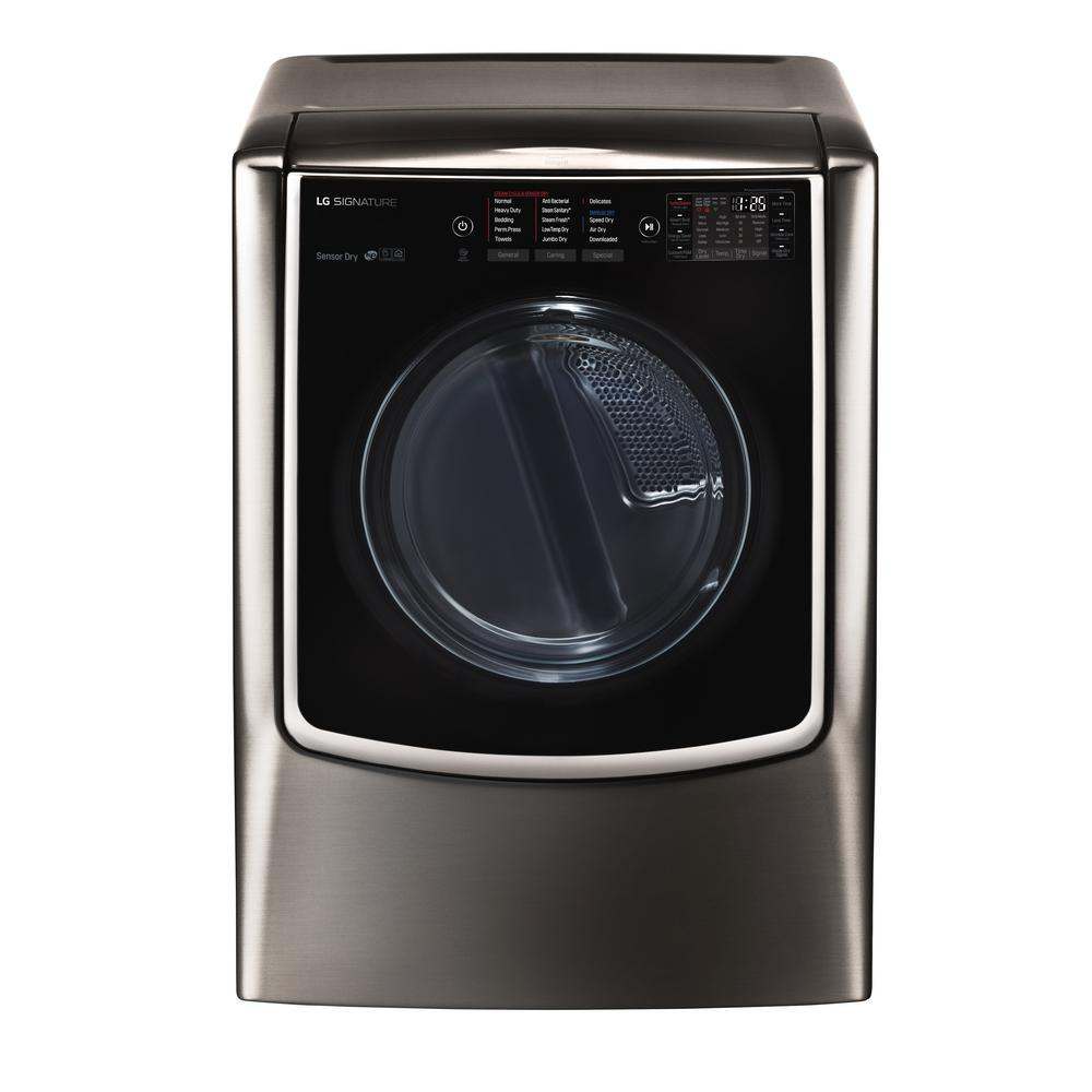 9.0 cu. ft. Smart Electric Dryer with Turbo Steam and WiFi