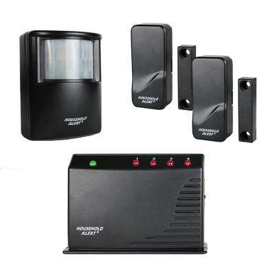 Wireless Deluxe Indoor Outdoor Motion Window Door Long Range Household Alert and Alarm System