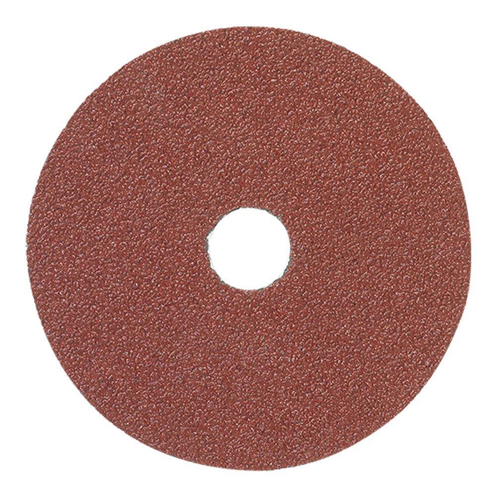 """50 pcs 4.5/"""" x 7//8 36 Grit Resin Fiber Grinding Sanding Disc Aluminum Oxide 4 1//2"""
