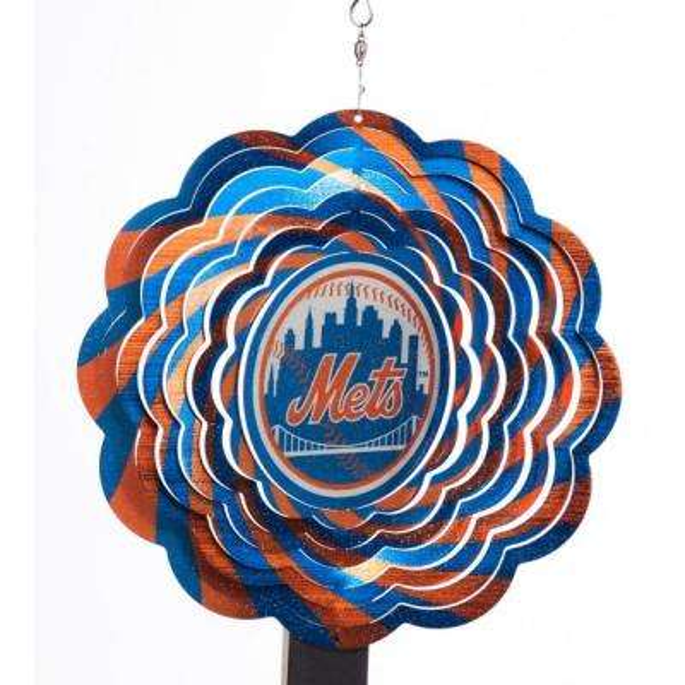 MLB 10 in. New York Mets Geo Spinner