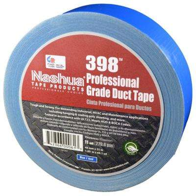 1.89 in. x 60.1 yds. 398 All Weather Blue HVAC Duct Tape