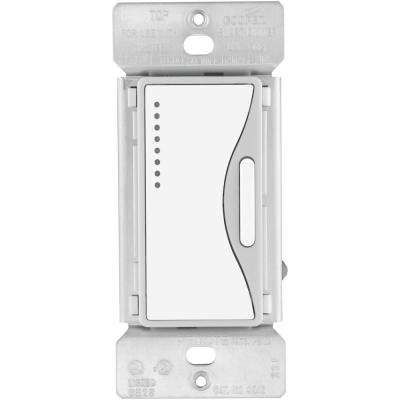 Smart Dimmer Switch in White Satin