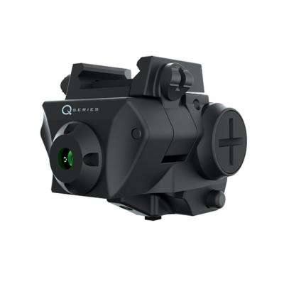 Q-Series Adjustable 5mW 532nm Green Laser for Rail-Equipped Compact and Subcompact Pistols