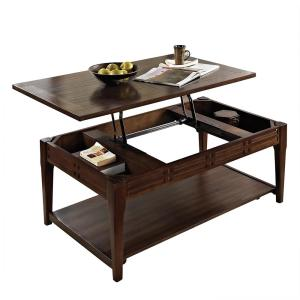 Crestline Cherry Lift Top Cocktail Table by