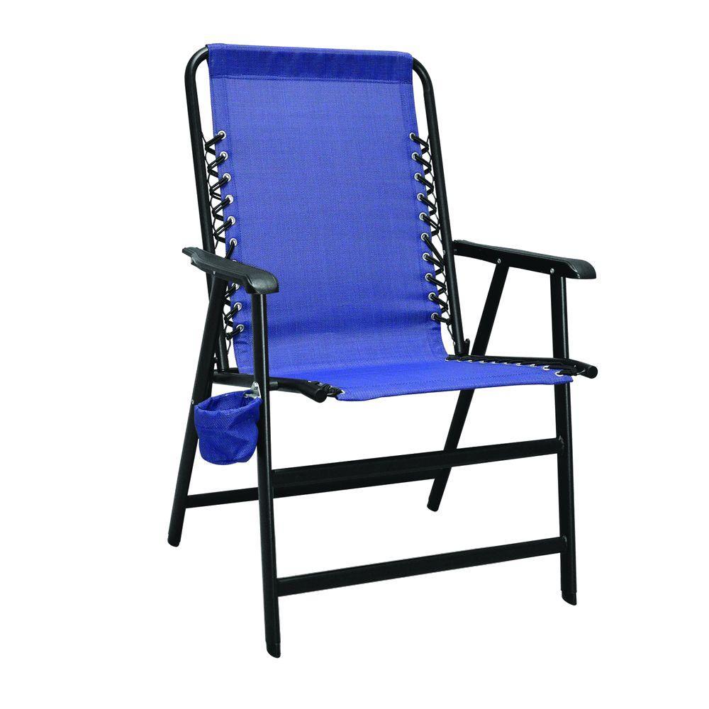 Blue XL Suspension Patio Chair