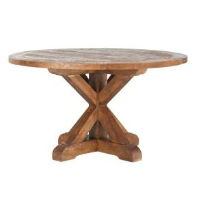 Home Decorators Collection Cane Bark Round Dining Table
