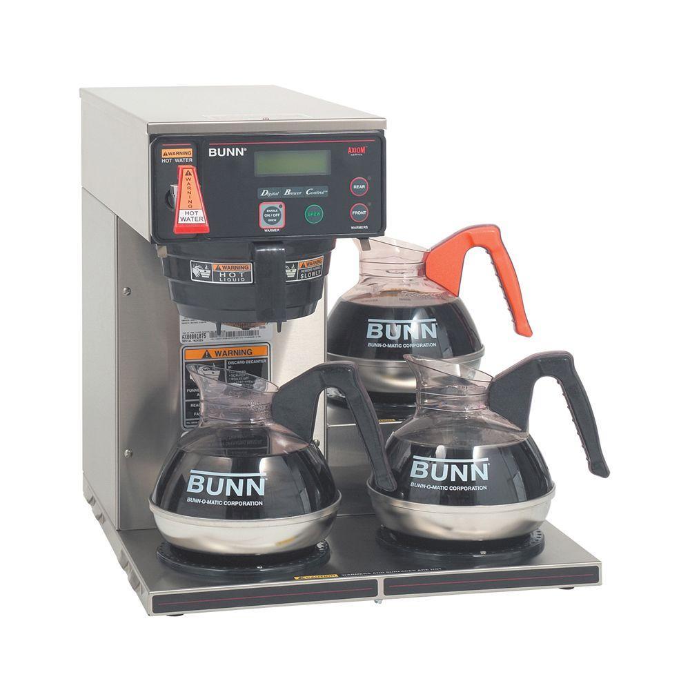 BUNN Axiom DV-3 Lower 200 oz. Commercial Automatic Coffee...