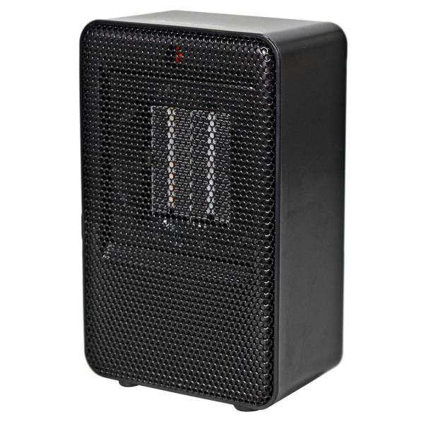 Personal Desktop Ceramic Heater, Black