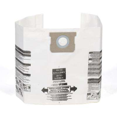 Dust Bag Filter for 10 Gal. to 14 Gal. Genie and Shop-Vac Wet Dry Vacs (12-Pack)