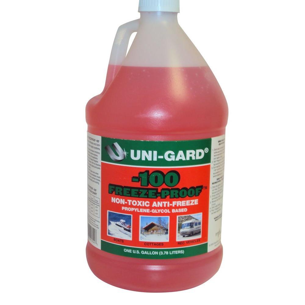 128 Oz Uni Gard 100 Freeze Proof Rv Antifreeze 131425