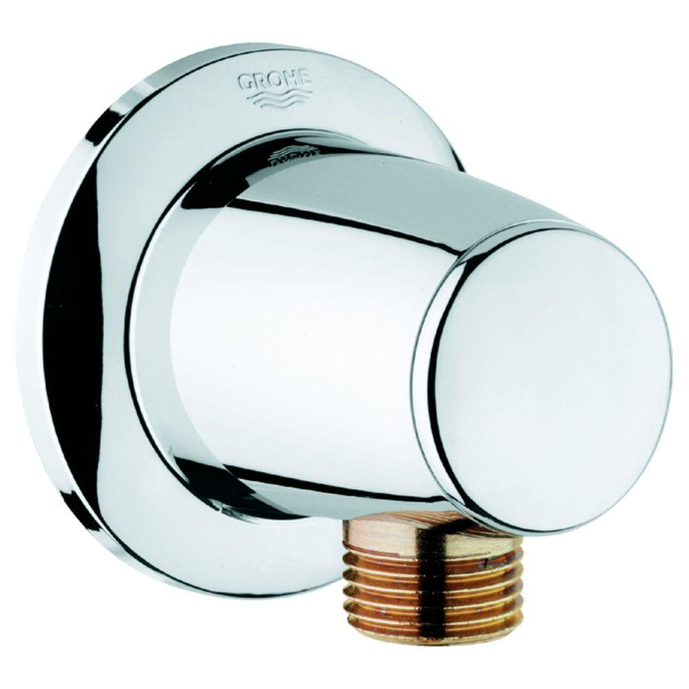 Movario Union in Starlight Chrome for GROHE Shower Hoses