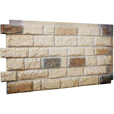 1-1/2 in. x 48 in. x 25 in. Sonora Desert Urethane Cut Coarse Random Rock Wall Panel