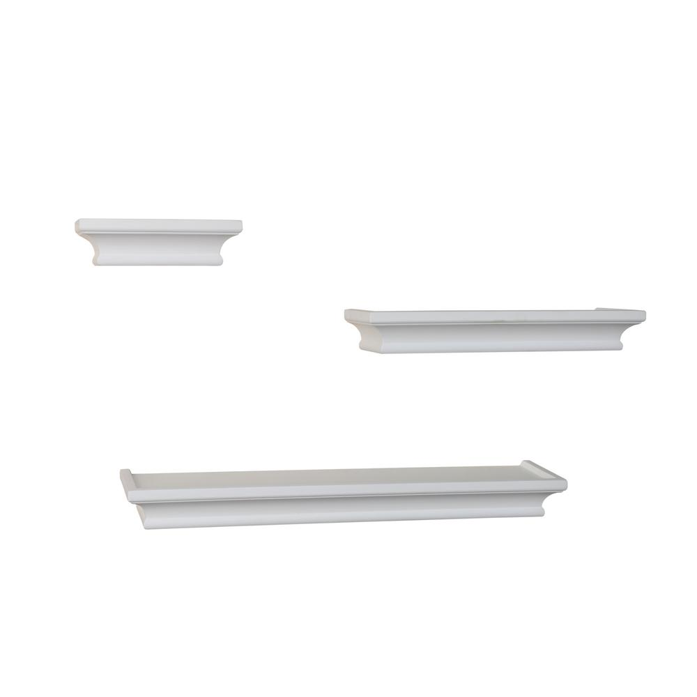Contempo 18 in. W x 1.5 in. H White MDF Cornice