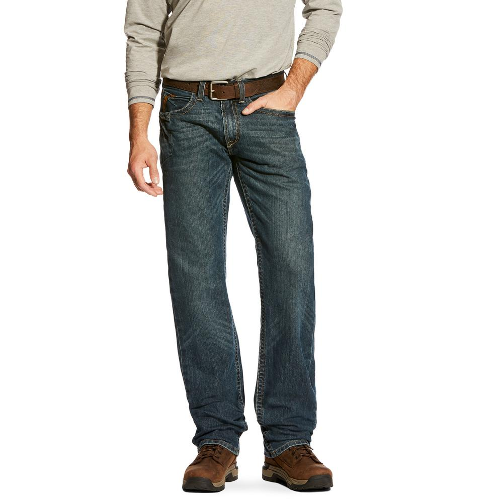 59328b2a3cd Men's Size 34 in. x 33 in. Ironside M5 Rebar Stackable Straight Leg Jeans