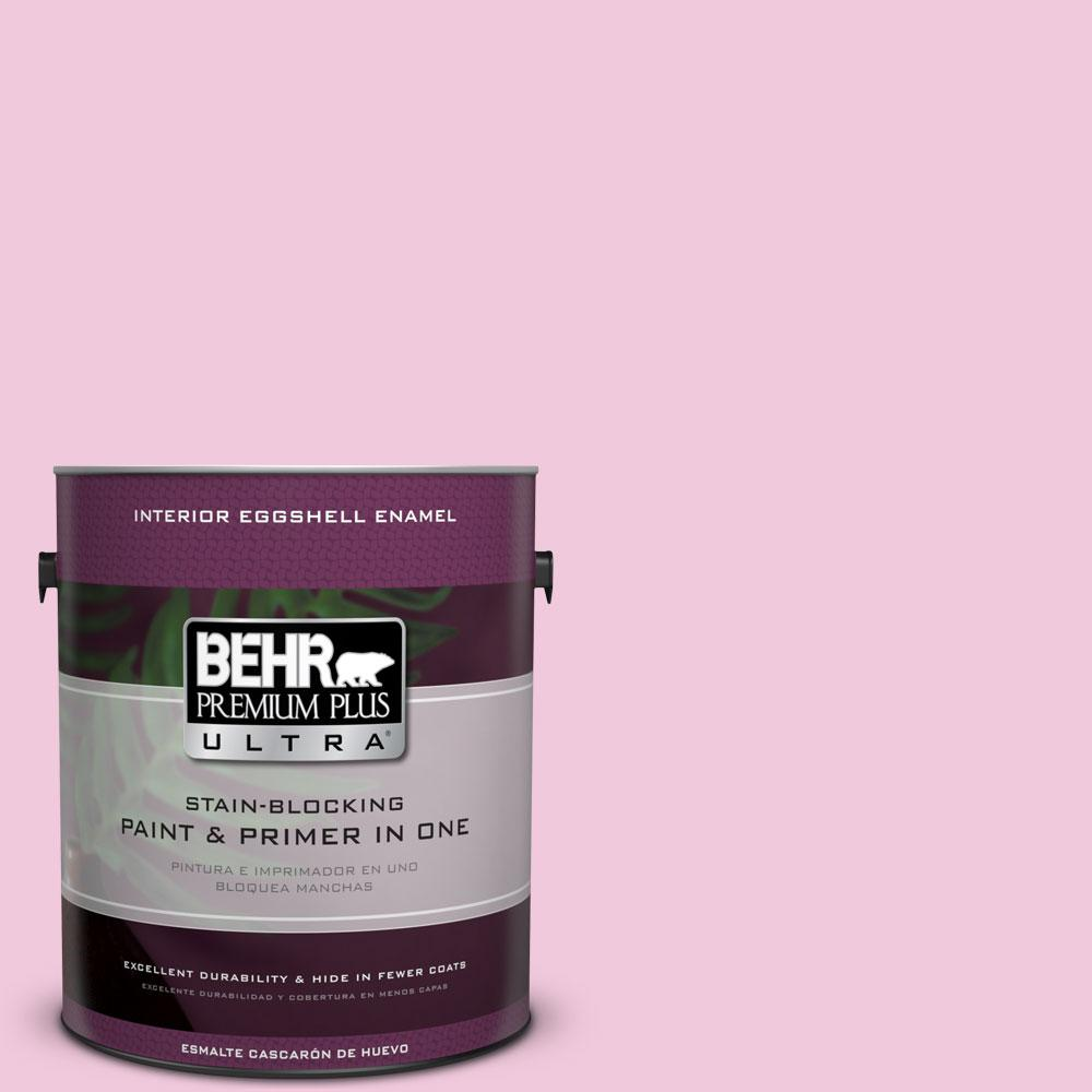 BEHR Premium Plus Ultra 1-gal. #P130-1 Piggy Bank Eggshell Enamel Interior Paint
