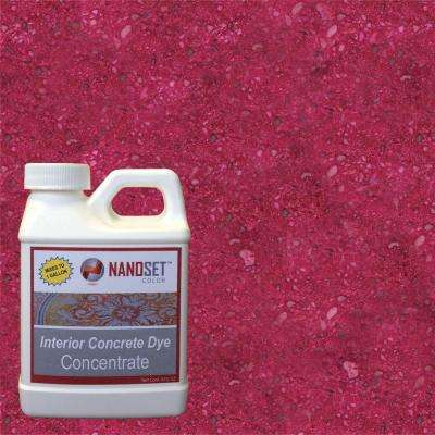 8-oz. Ruby Interior Concrete Dye Stain Concentrate