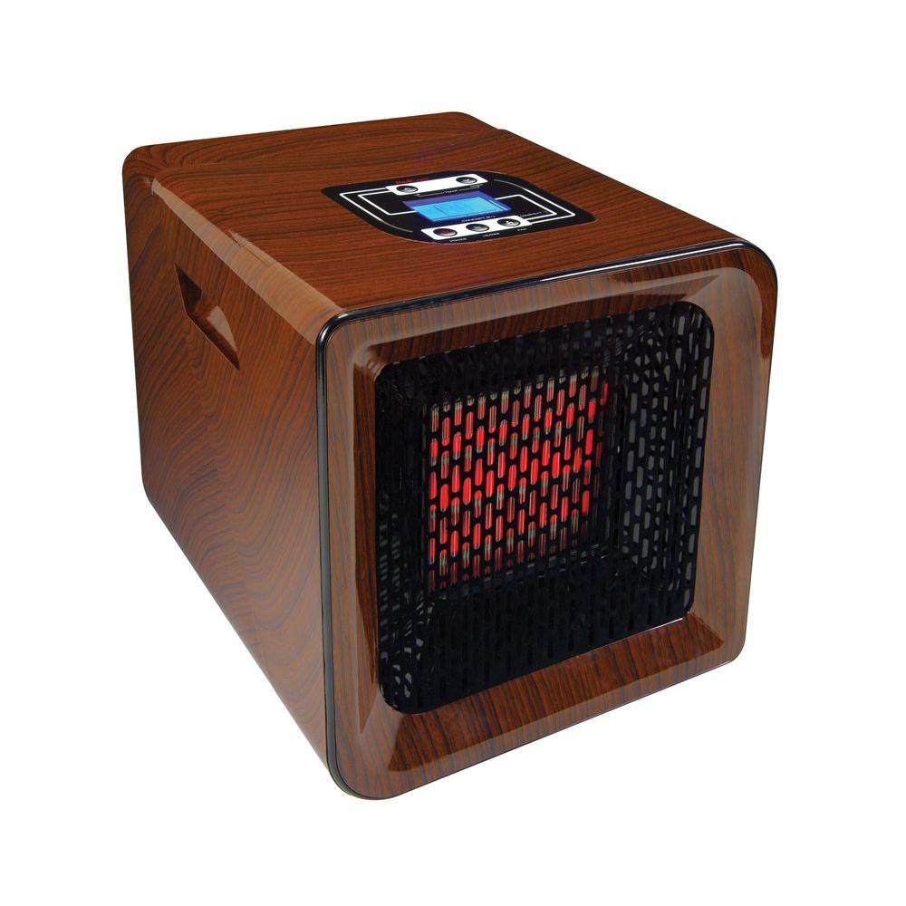 RedCore 1500-Watt R1 Infrared Portable Heater - Wood