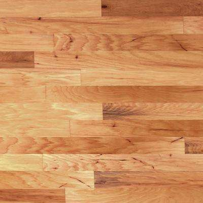 Scraped Vintage Hickory Natural 3/8 in.Tx 4-3/4 in.W x Random Length Engineered Click Hardwood Flooring (33 sq.ft./case)