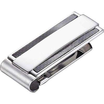 Zuroko Carbon Fiber Stainless Steel Money Clip