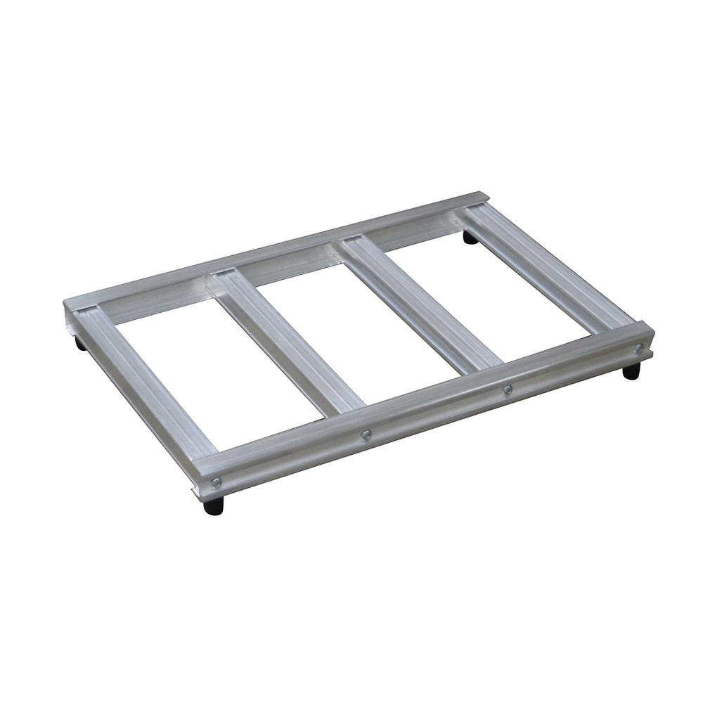 500 lb. Capacity 20 in. Wide Opening Mini Pallet for Hand