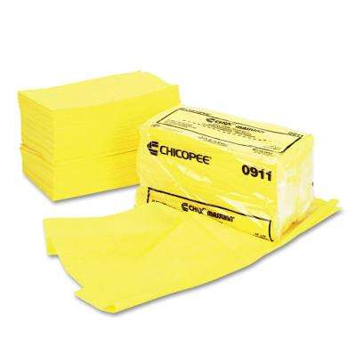 24 in. x 24 in. Yellow Masslinn Dust Cloths (100-Pack)