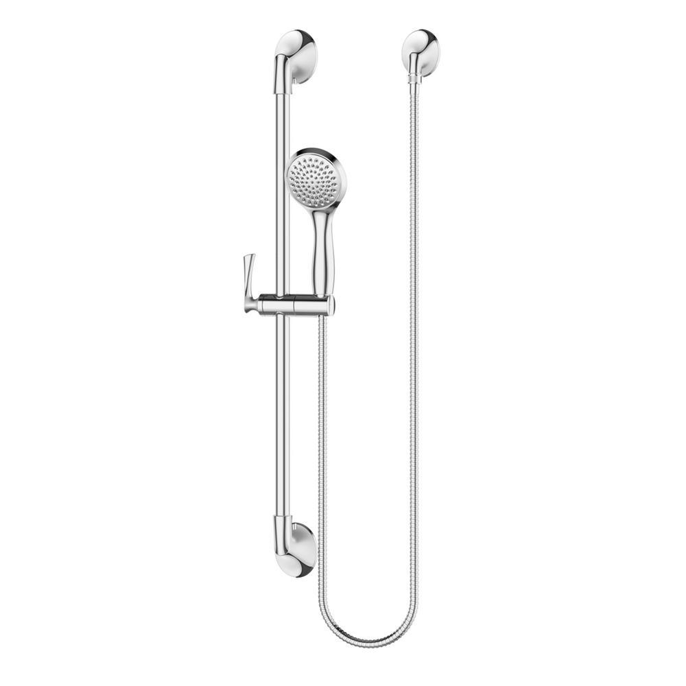 Rhen 1-Spray Slide Bar Hand Shower in Polished Chrome