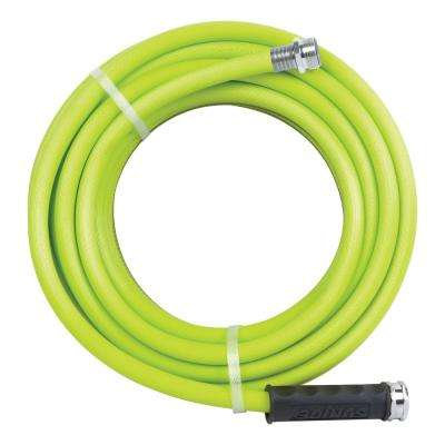 1/2 in. Dia. x 50 ft. Heavy Duty, Kink-Resistant, Lightweight Garden Hose