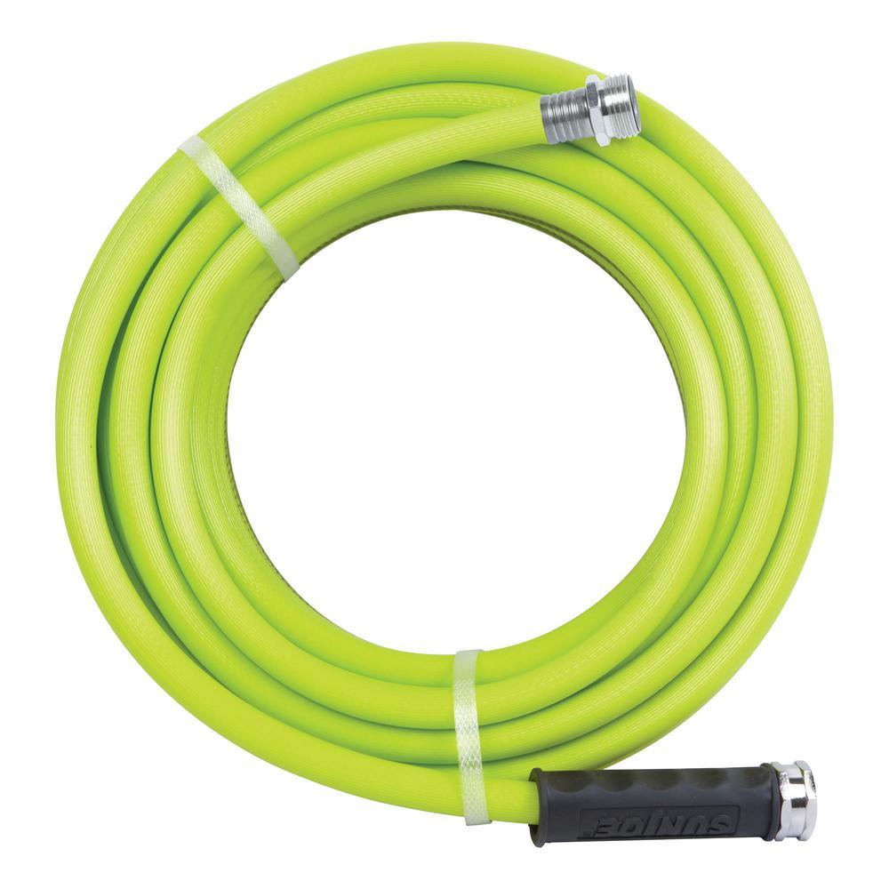 Aqua Joe 1/2 in. Dia. x 50 ft. Heavy Duty, Kink-Resistant, Lightweight Garden Hose, Lead-free, BPA-Free