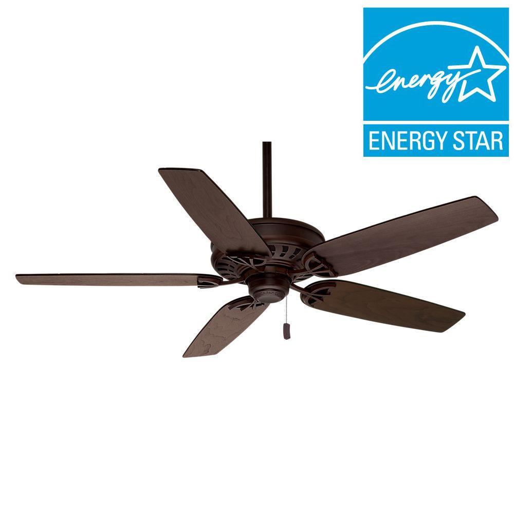 Hunter Headley 64 In Indoor Cocoa Bronze Ceiling Fan