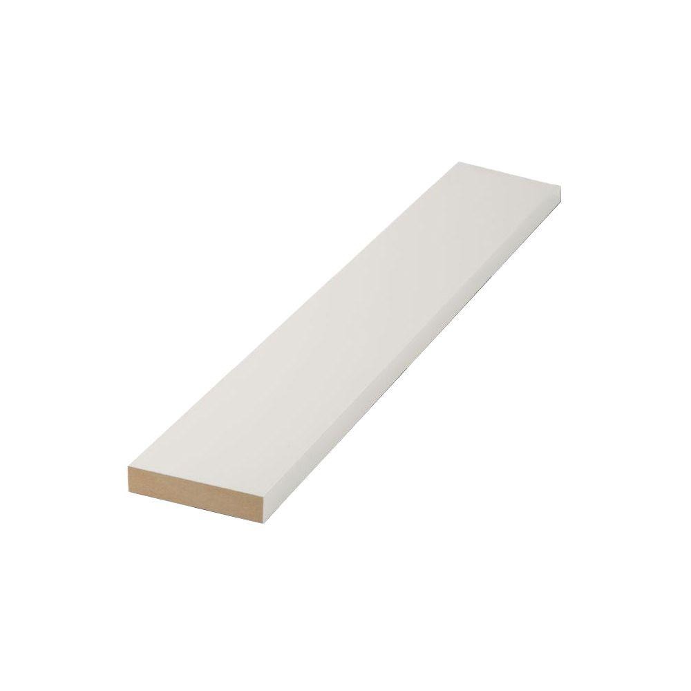 Do It Yourself Home Design: Finished Elegance 1 In. X 6 In. X 8 Ft. MDF Moulding Board