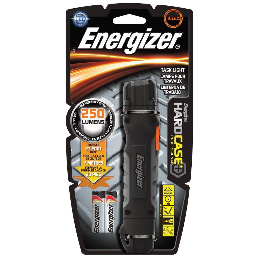 Hard Case Professional 2AA 3 LED Flashlight