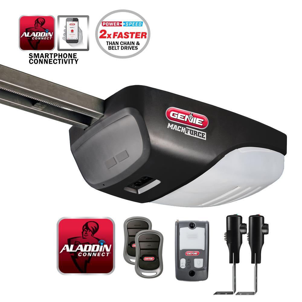 genie garage doorGenie StealthDrive 114 HP Belt Drive Garage Door Opener with